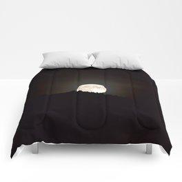 Full Moon Supermoon Comforters