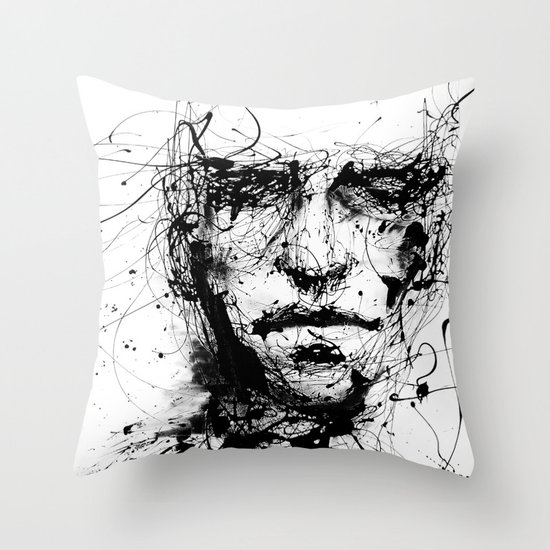 lines hold the memories Throw Pillow