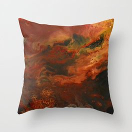 Red Sands Throw Pillow