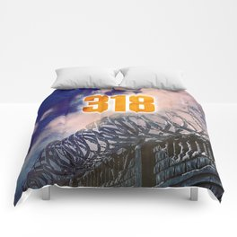 318 Protected Prison Camp Comforters