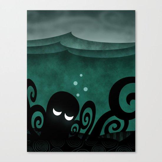 Ocean Concerto Canvas Print