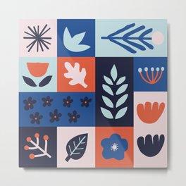 Fine Specimens Pattern Metal Print