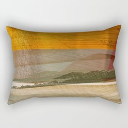 Landscape in the Middle East Rectangular Pillow