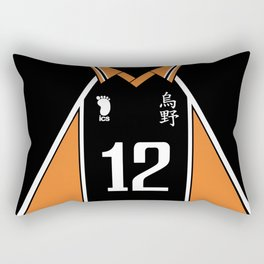 Haikyuu!! - Yamaguchi Tadashi #12   ハイキュー‼ - 山口忠 #12 Rectangular Pillow