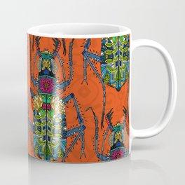 flower beetle orange Coffee Mug