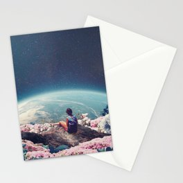 My World Blossomed when I Loved You Stationery Cards