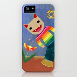 happiness spores iPhone Case