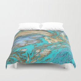 Woody Water Duvet Cover