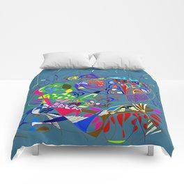 Filanes-6 couleur bleu extrude Comforters
