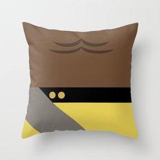 Worf - Minimalist Star Trek TNG The Next Generation - Enterprise 1701 D - startrek - Trektangles Throw Pillow