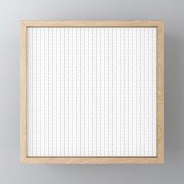 Fuck You - Pin Stripe - Conor McGregor Black Framed Mini Art Print