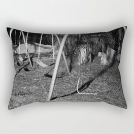 Salty Swings Rectangular Pillow