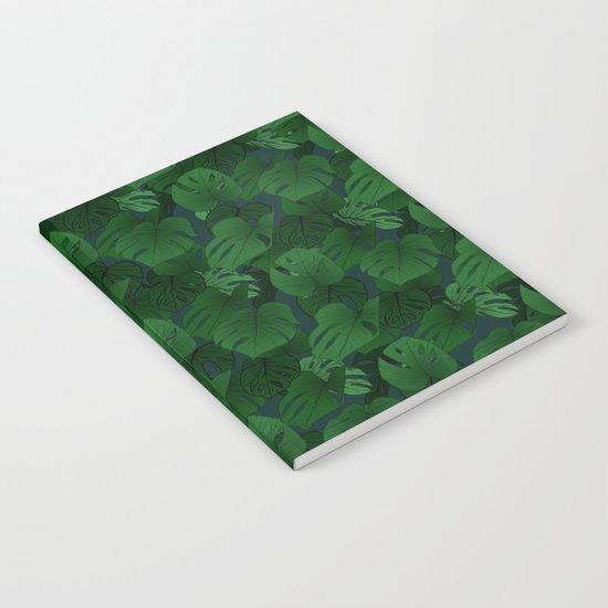 Monstera (Jungle) - Emerald x Teal by hundilaul