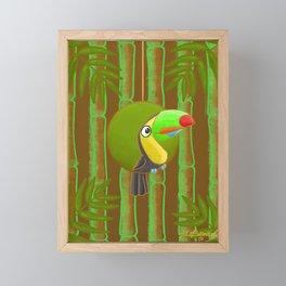 Happy Toucan! Framed Mini Art Print