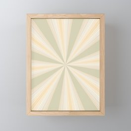 Summer Rays II Framed Mini Art Print