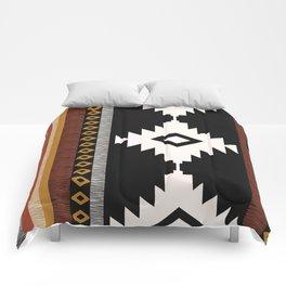 Pueblo in Sienna Comforters