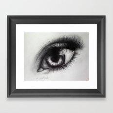 Eye Sketch 2 Framed Art Print