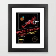 NES Cowboy Bebop Framed Art Print
