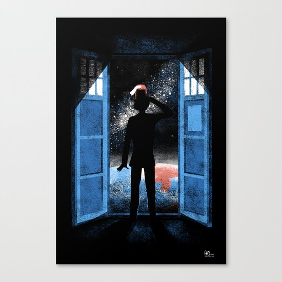 It's Bigger on the Outside Canvas Print