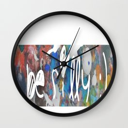 silly Wall Clock