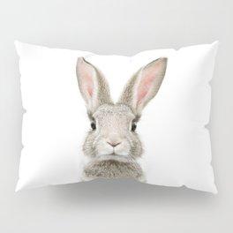 Bunny Portrait Pillow Sham