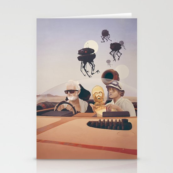 Fear and Loathing on Tatooine Stationery Cards