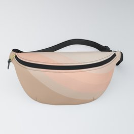 Soft Light Hillside Fanny Pack