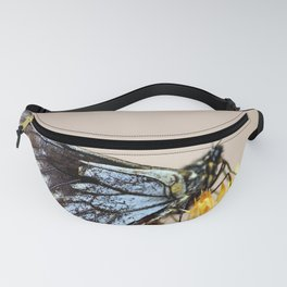 Butterfly with torn wings Fanny Pack