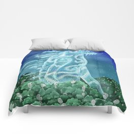The Nightwalker (Princess Mononoke) Comforters