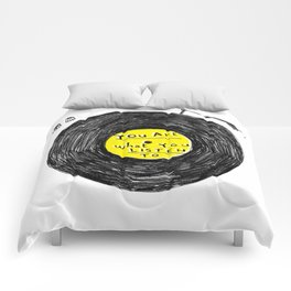 you are what you listen to, YELLOW Comforters