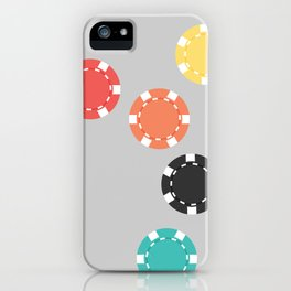 #21 Poker Chips iPhone Case