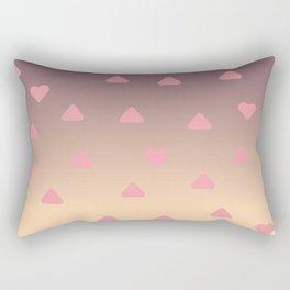 heart pattern Rectangular Pillow