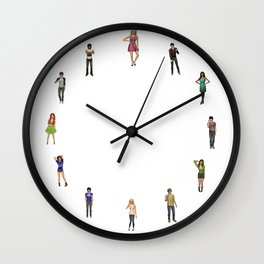 Half Past Roxy Wall Clock