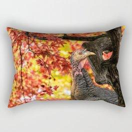 HAPPY THANKSGIVING   FROM WILD TURKEY Rectangular Pillow