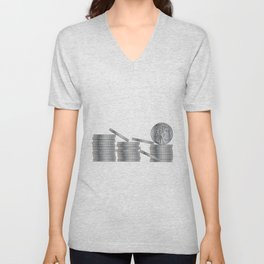 30 Pieces Of SIlver Unisex V-Neck