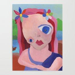 Mona Lisa Gets a Makeover Poster