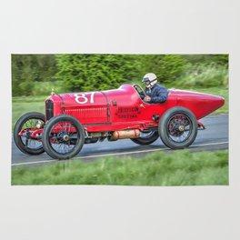 Vintage Racing Car - Hudson Special Rug
