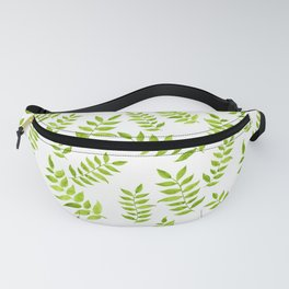Green Leaf Fanny Pack