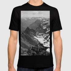 Archangel Valley Mens Fitted Tee LARGE Black