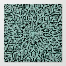 Delicate Teal Canvas Print