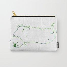 Simplistic Corgi Carry-All Pouch