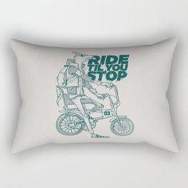 Ride or Don't! Rectangular Pillow