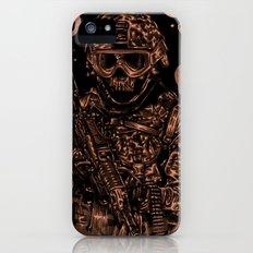 Military skull iPhone (5, 5s) Slim Case