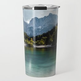 Lake Jasna in Kranjska Gora, Slovenia Travel Mug