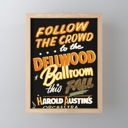 Dellwood Ballroom Framed Mini Art Print