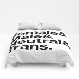 All Equal Genders Comforters