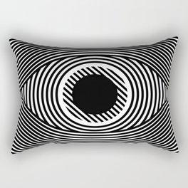 Moire Eye Rectangular Pillow
