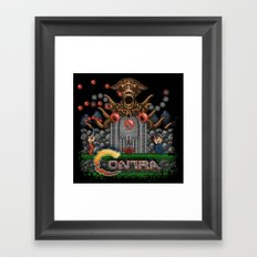 Contras Framed Art Print