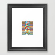 Unknown Colors Framed Art Print