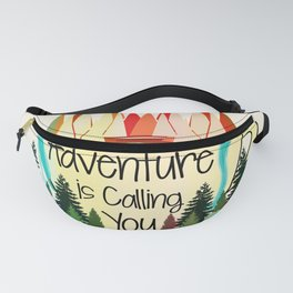 Adventure is Calling You Fanny Pack